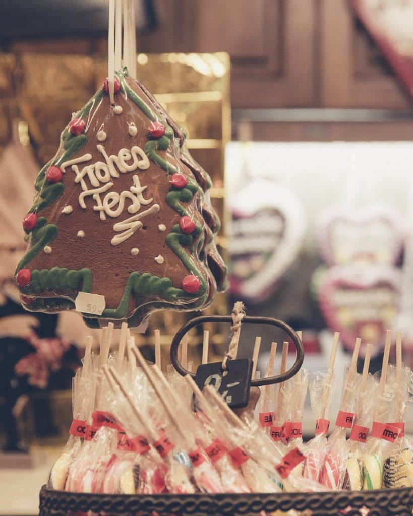 Pains d'épice et sucettes sur les marchés de Noël en Allemagne