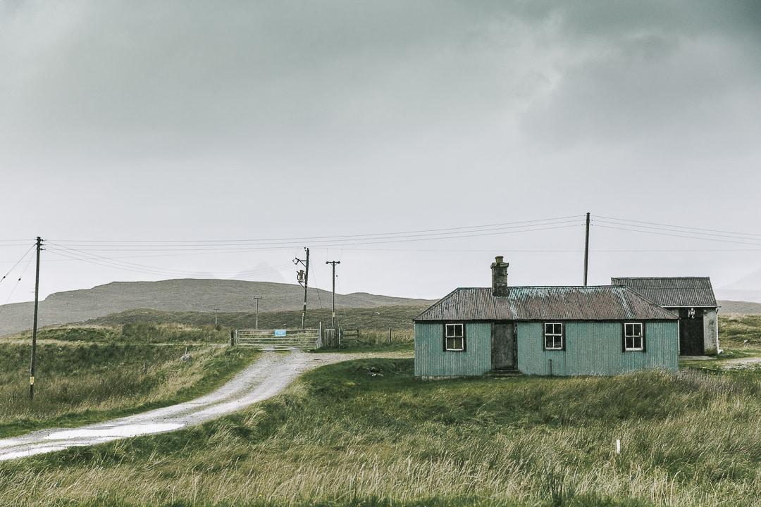 Maison sur les bords de la North Coast 500 - Ecosse