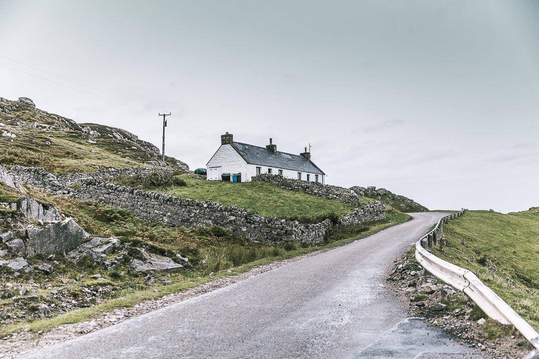 Cottage en bord de la North Coast 500 - Ecosse