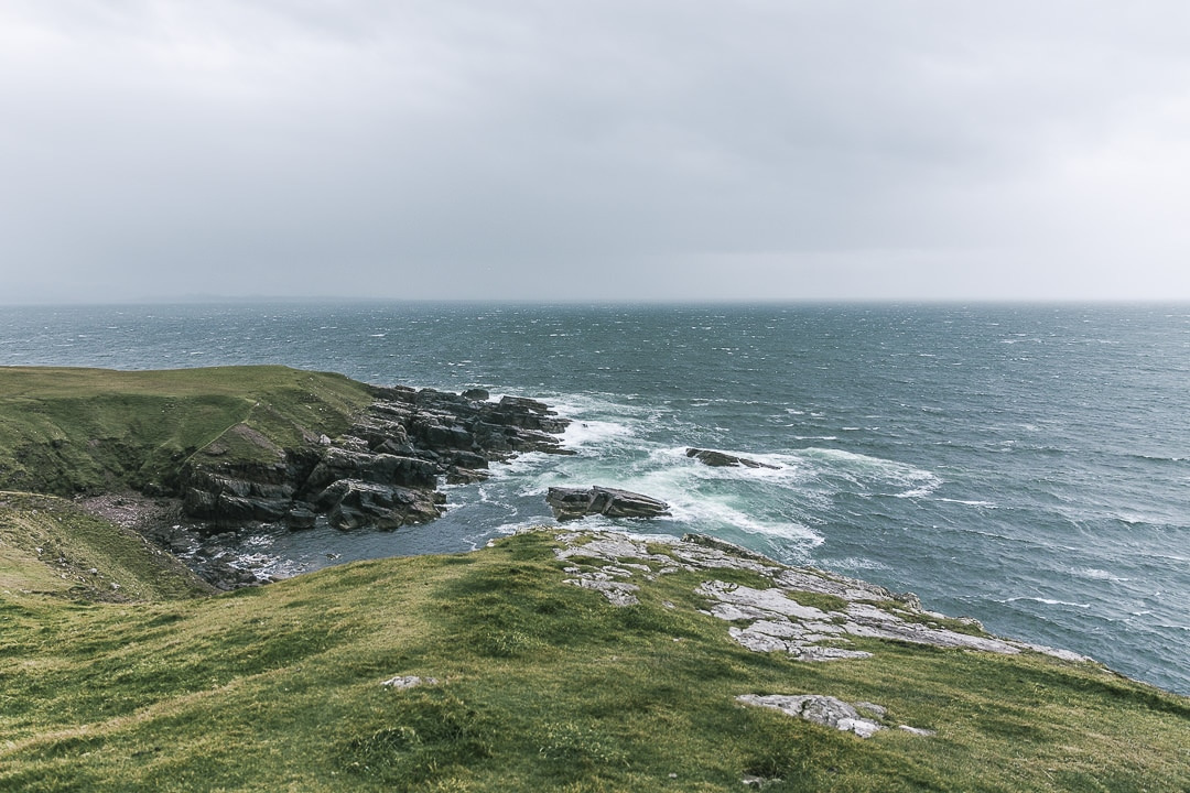 La côte ouest écossaise exposée au vent - North coast 500 - Ecosse