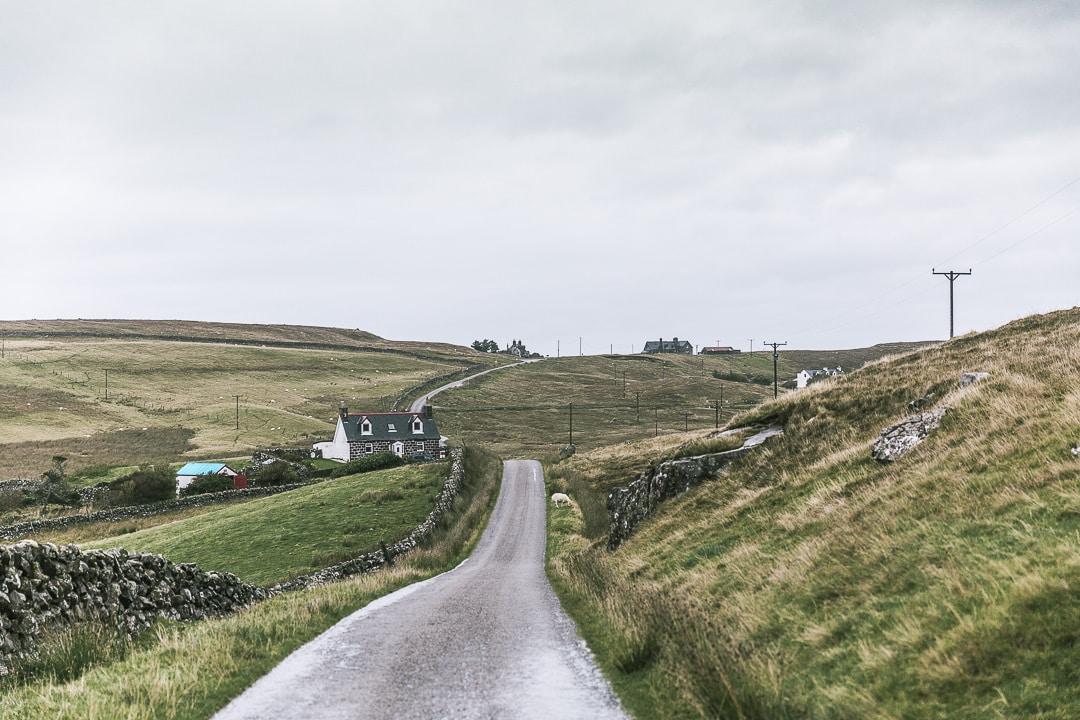 Sur la route du phare de Stoer head - Lochinver - North coast 500 - Ecosse