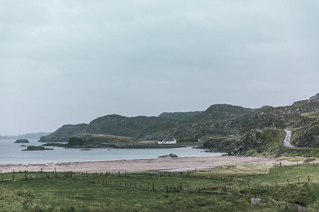 La plage de Clashnessie, Lochinver - North coast 500 - Ecosse