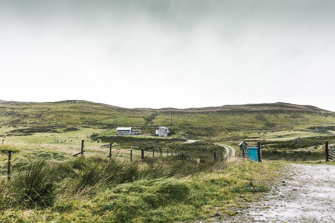 The grey house Clashnessie - North coast 500 - Ecosse