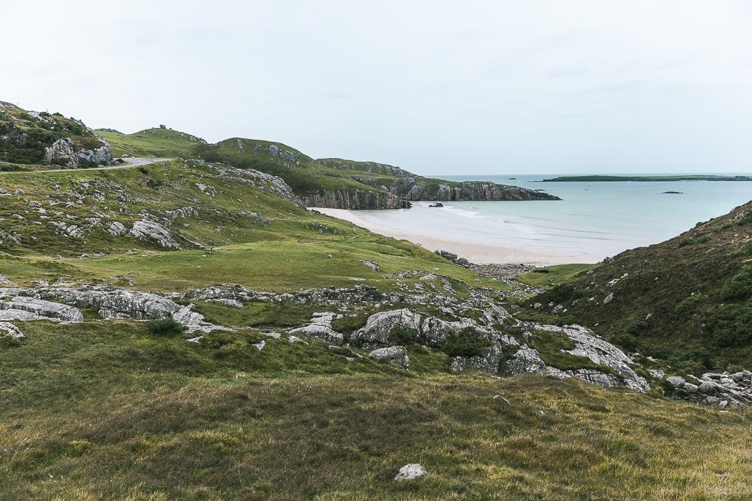Une plage sur la North Coast 500 - Ecosse