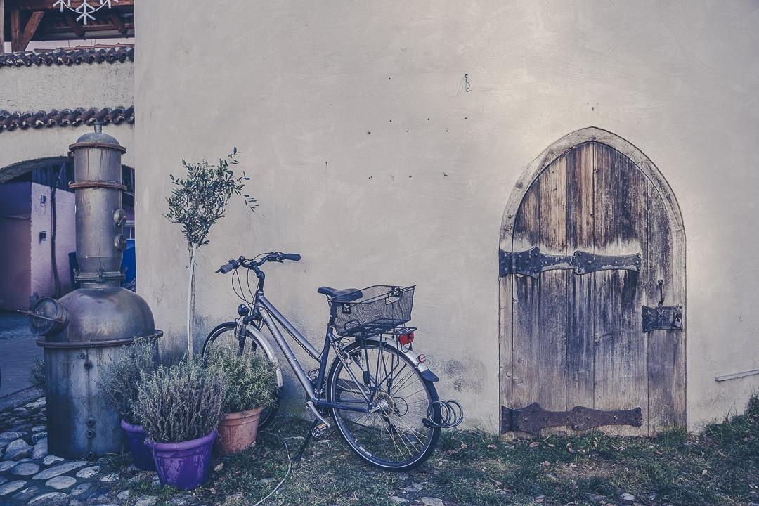 Détail du village de charme de Fuessen sur la route romantique allemande