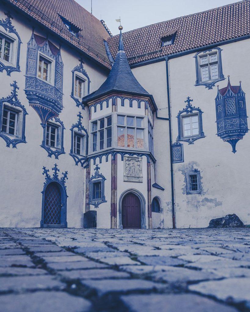 Cour du chateau de Füssen - Bavière, Allemagne