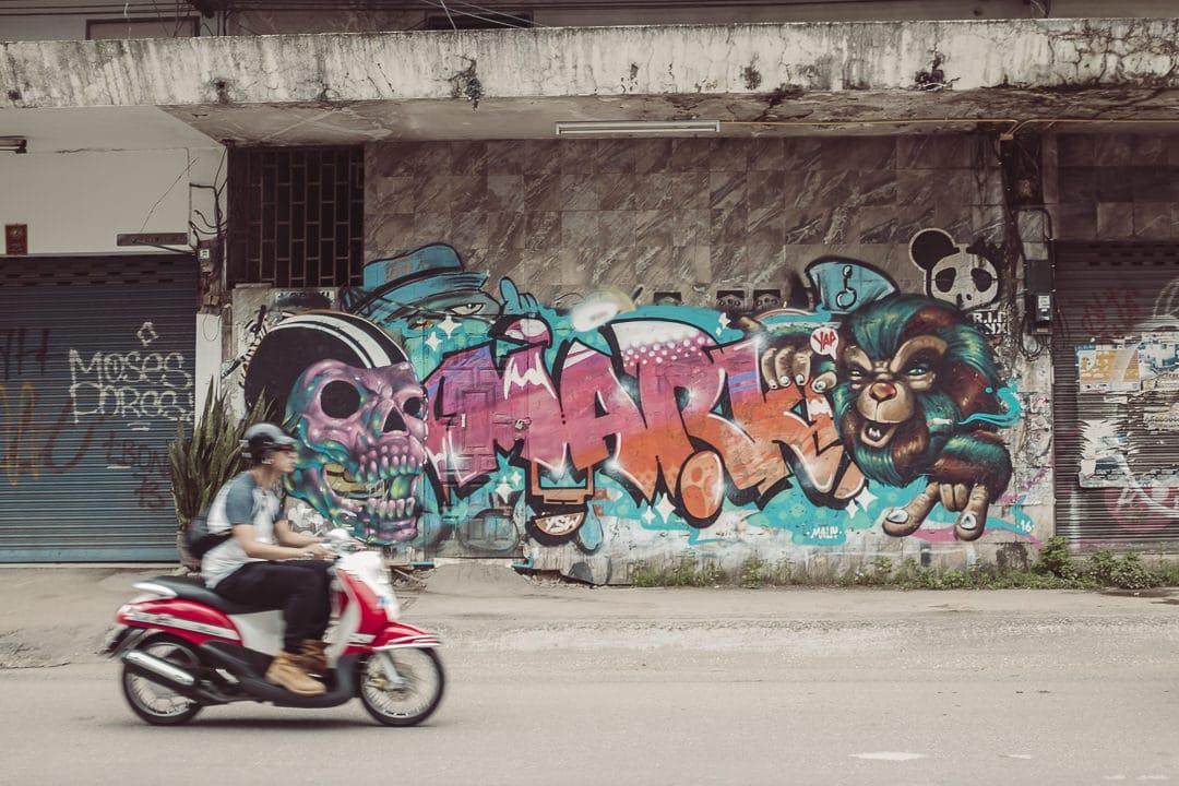 Louer un scooter à Chiang Mai
