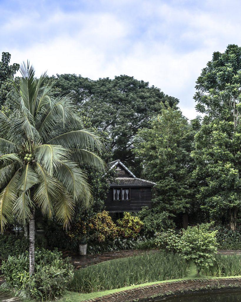 Chambre de l'hotel Marndadee situé au coeur d'un jardin luxuriant - Hotel situé à quelques kilomètres de Chiang Mai - Thailande
