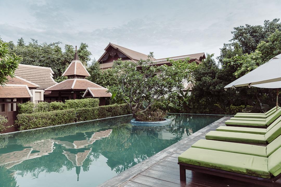 Piscine Siripanna villa resort & spa Chiang Mai
