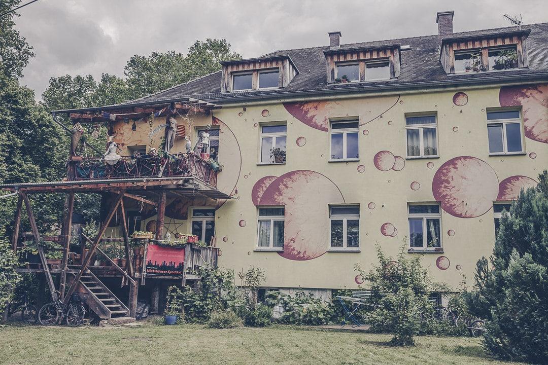 L'éco quartier Vauban à Fribourg en Allemagne a été construit sur une ancienne caserne française