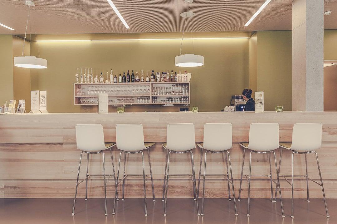 Réception du Green city hotel Fribourg, Allemagne - Hotel écologique et design