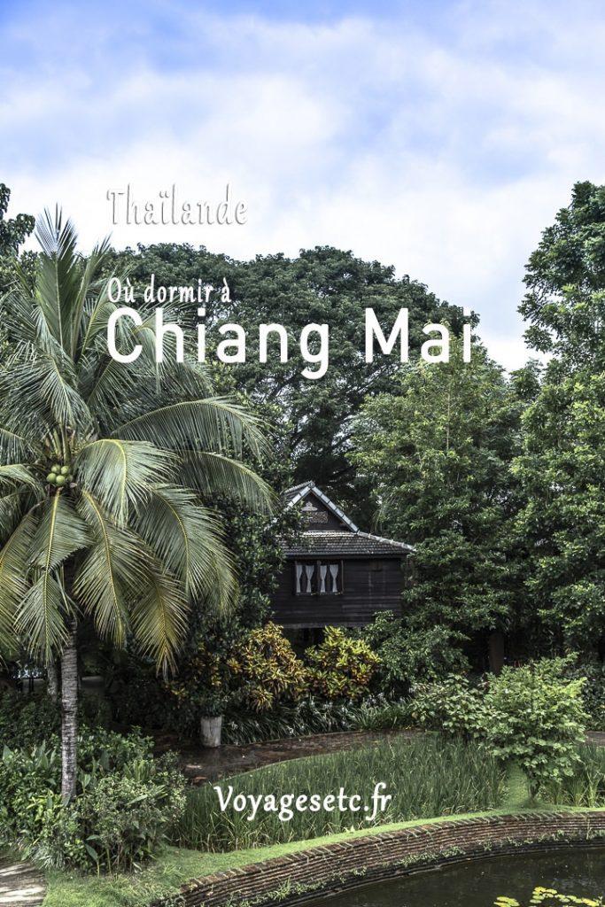 L'offre d'hébergement à Chiang Mai est riche et variée. De la simple guest house à l'hotel de luxe, d'un village reculé au quartiers animés du centre ville, je vous présente 4 quartiers aux atmosphères distinctes pour dormir à Chiang Mai