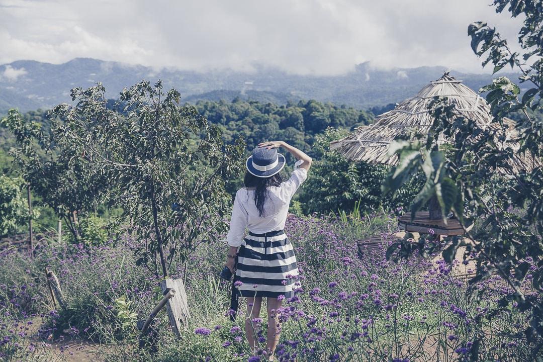 Mon Cham, dans les montagnes au nord de Chiang Mai - Thailande