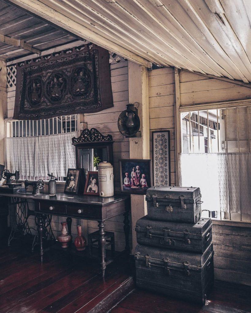 Ban Sao Nak, une maison traditionnelle en teck de Lampang