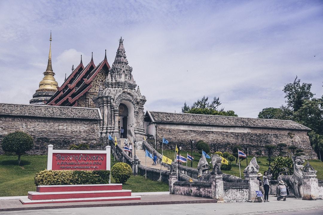Le Wat Phra That Lampang Luang, un joli temple historique situé à une vingtaine de kilomètres de Lampang