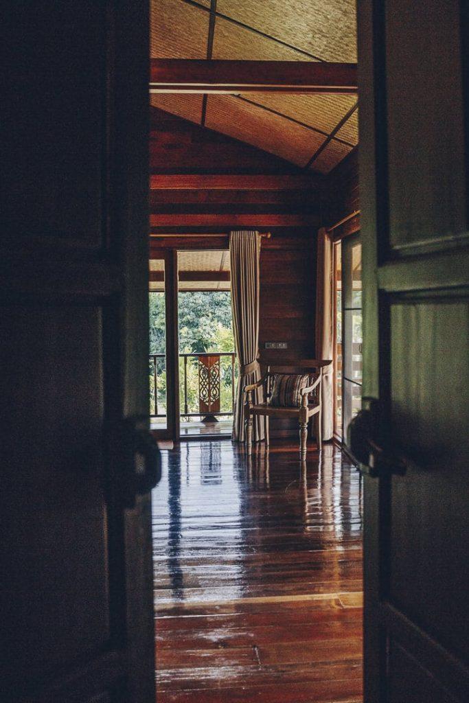 décoration intérieure du loft de la Bambuh homestay à Chiang Rai - Thaïlande