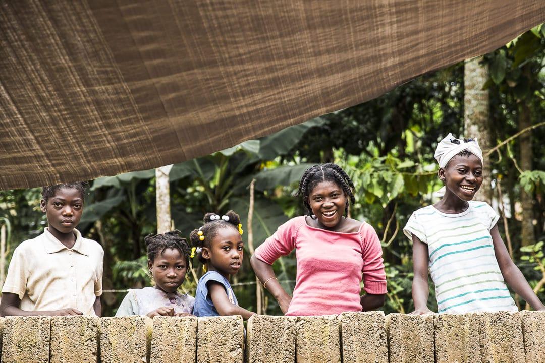 Les enfants de la route du café en Haïti