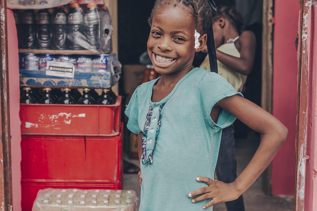 Portrait d'enfant - Haïti