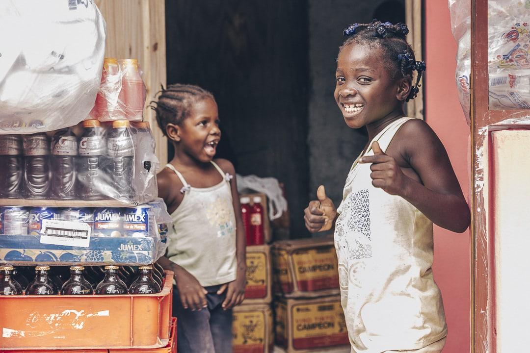 Portrait d'enfant Haïti