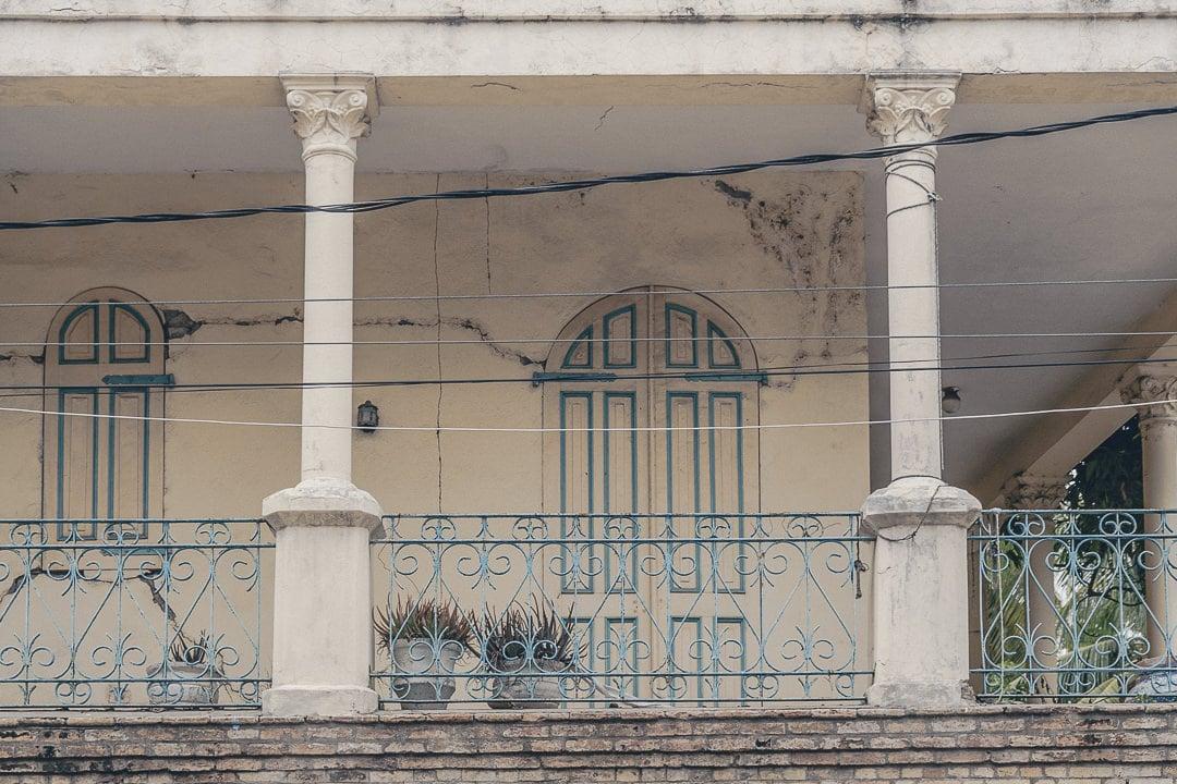 Détail de l'architecture de Jacmel - Haïti