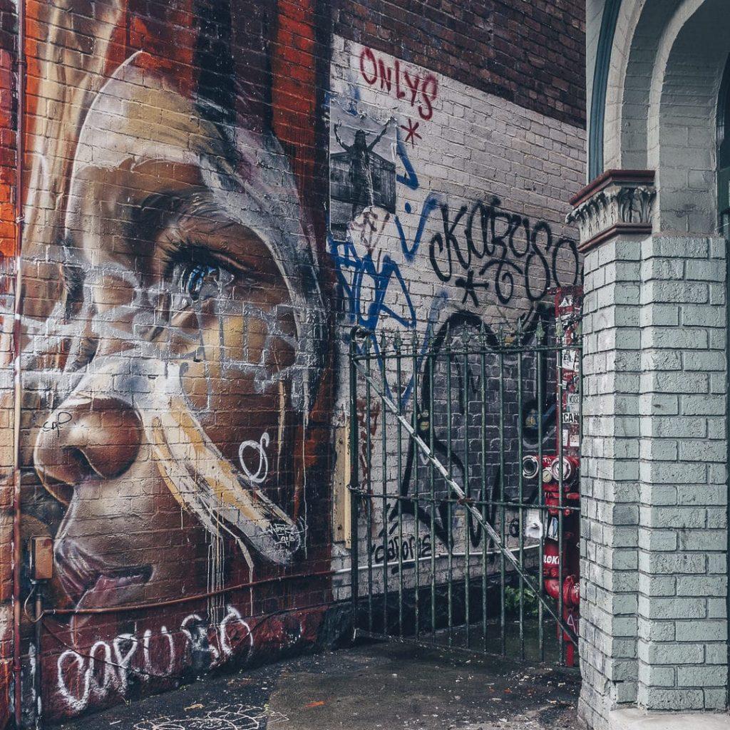 Adnate Gertrude street - Melbourne - Australie