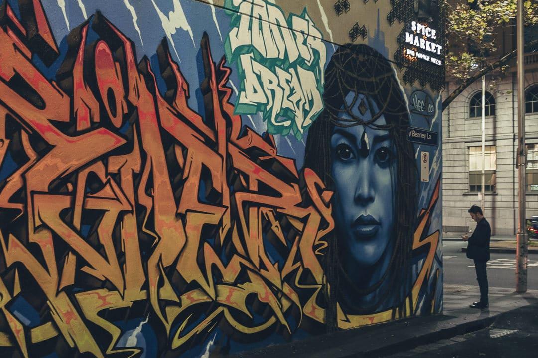 Heesco, street artiste mongol qui vit à Melbourne - Australie