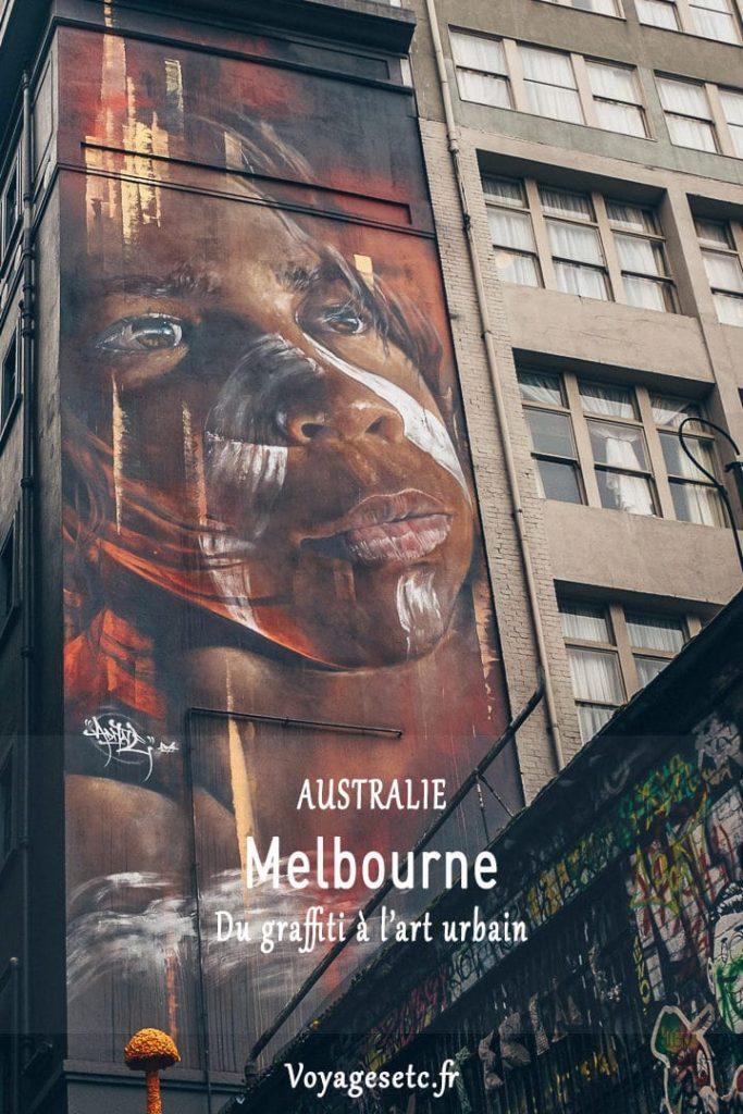 Street art à Melbourne : du graffiti à l'art urbain - Australie