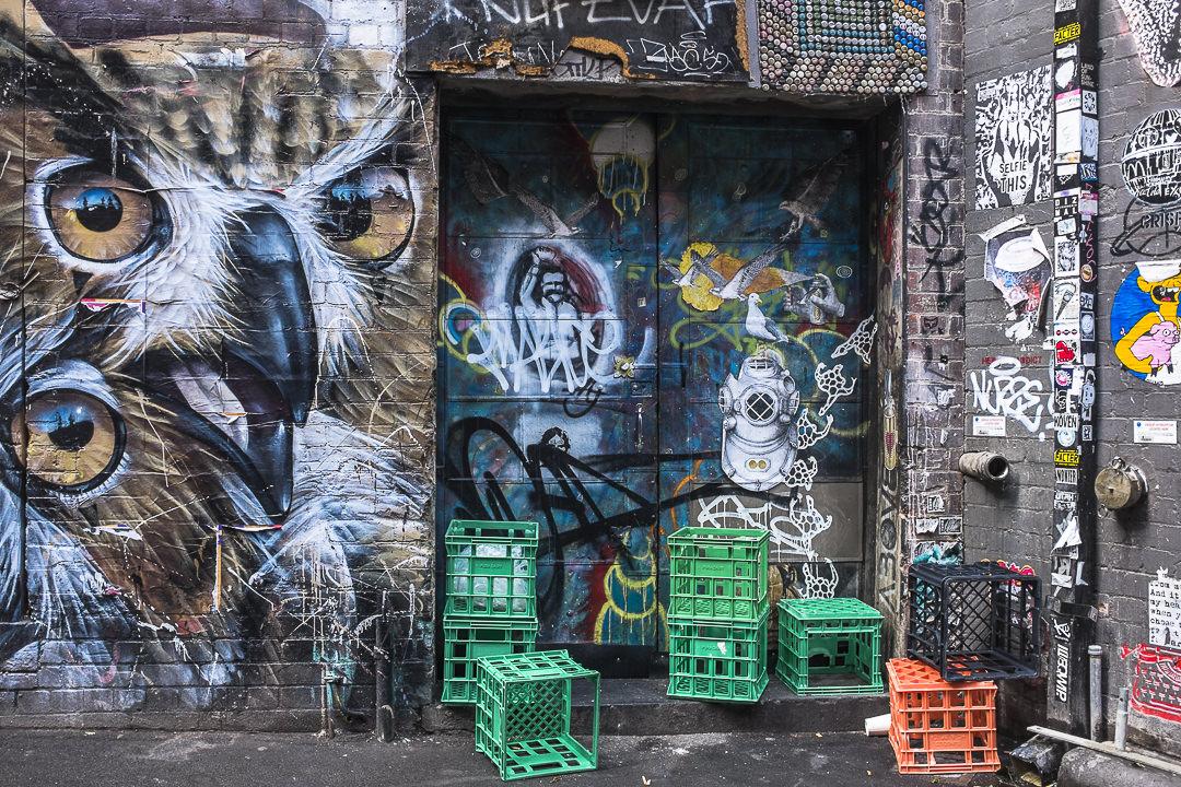 Street art Melbourne, un terrible bazarre - Australie