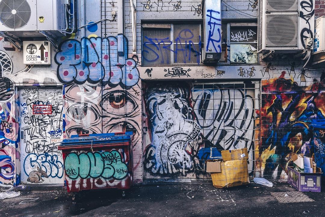 Street art Melbourne - Australie