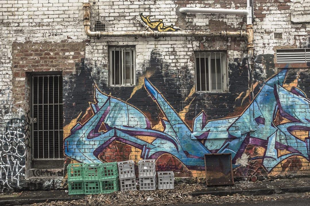 la mise en scène naturelle des rues de Melbourne - Australie
