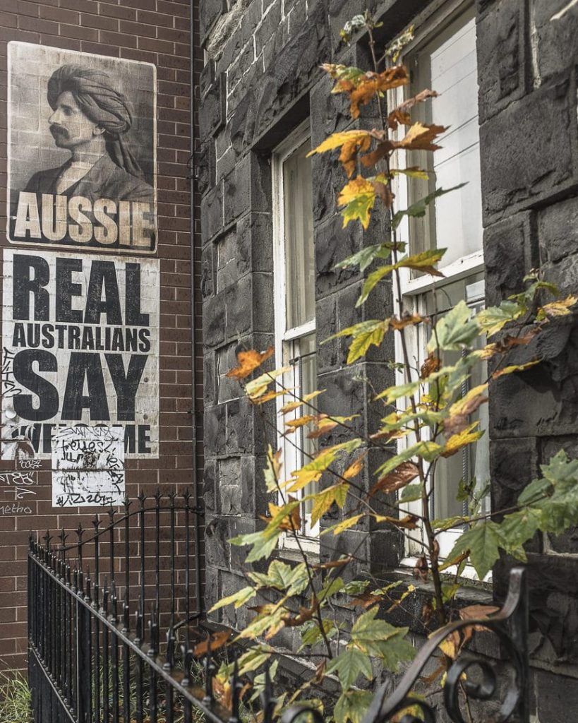 Aussie - Street art Melbourne - Australie
