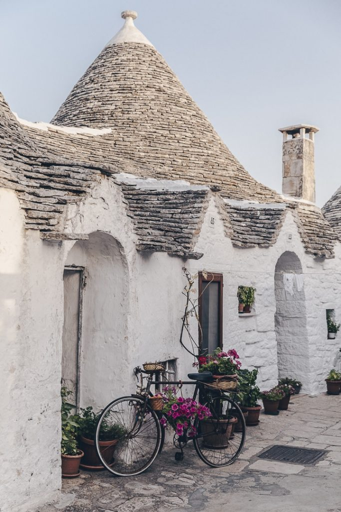 Les Pouilles, Italie - Alberobello, village classé au patrimoine mondial de l'Unesco