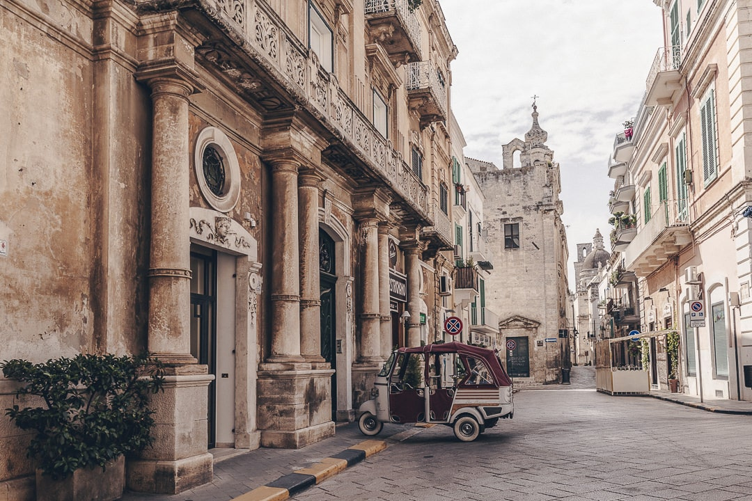 Rue de Monopoli - Les Pouilles, Italie