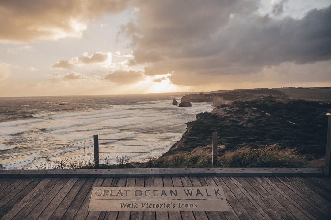 Great Ocean Walk aux 12 apôtres - Australie