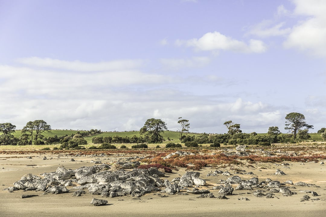 Lac Corangamite - Parc national Port Campbell - Great Ocean Road, Australie