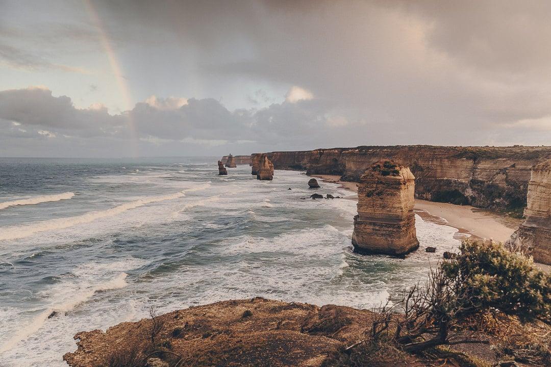 Lever de soleil sur les 12 apôtres - Great Ocean Road, Australie