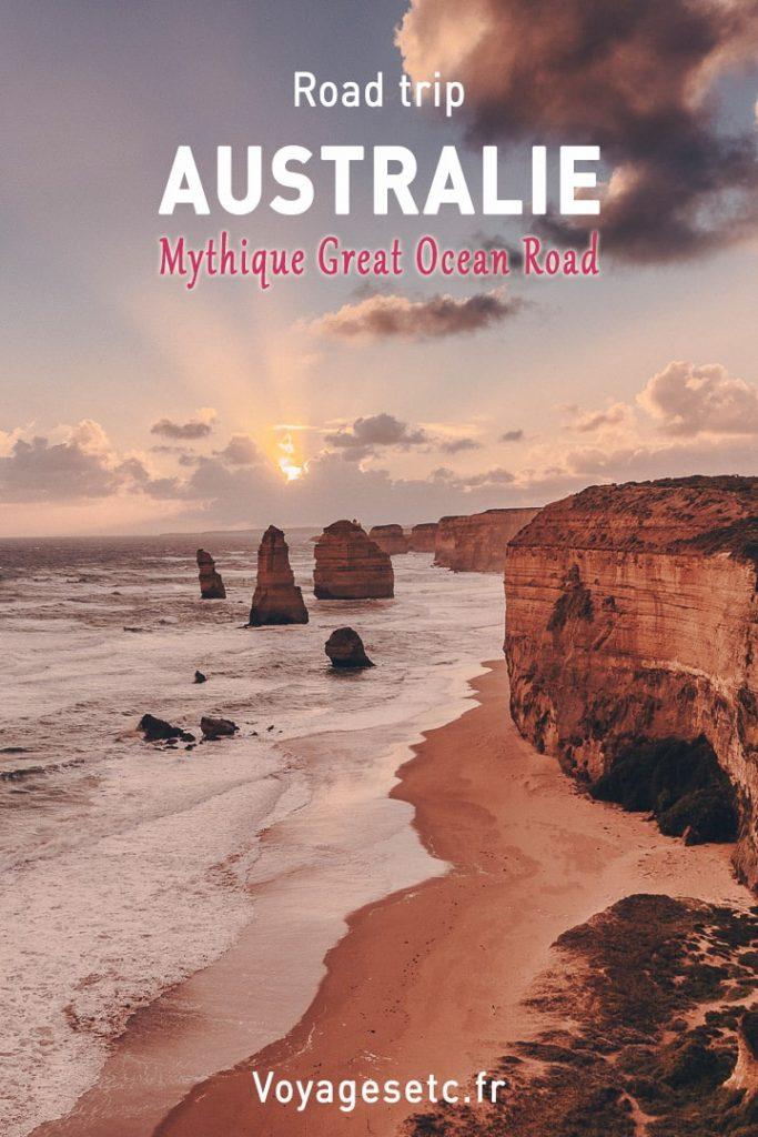Road trip mythique sur la Great Ocean Road Australie