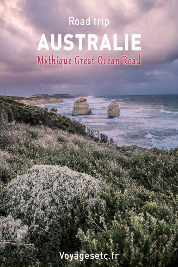Road trip mythique en Australie sur la Great Ocean Road