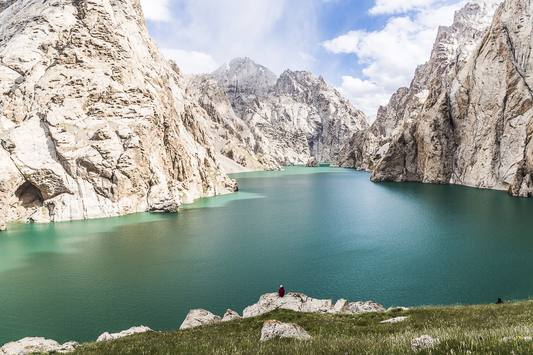 Soirée au bord du lac Köl-Suu - Kirghizstan