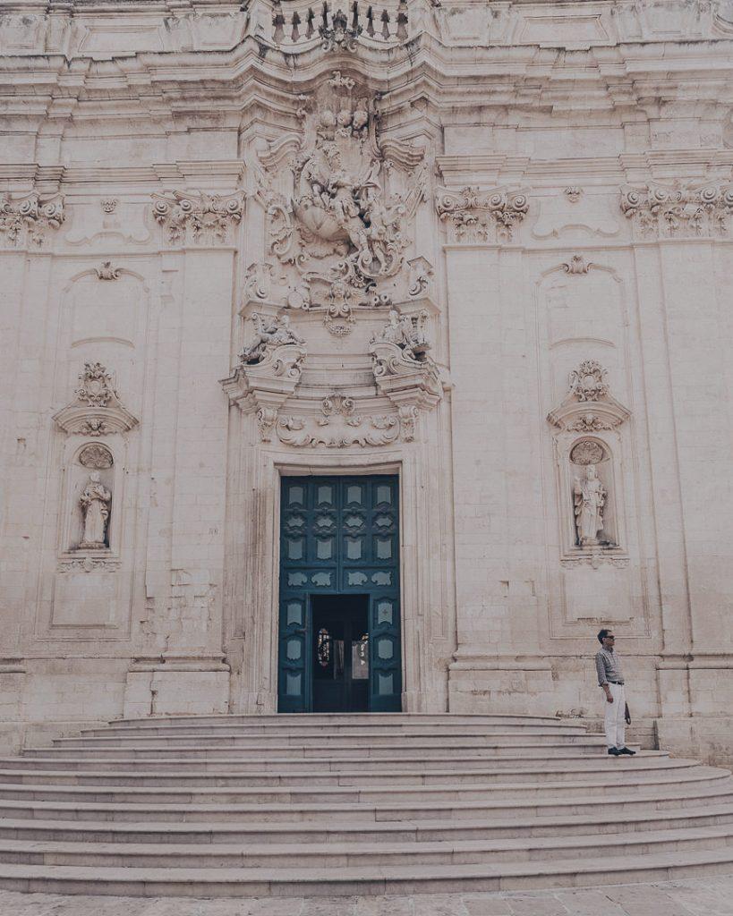 Eglise Martina Franca - Les Pouilles Italie