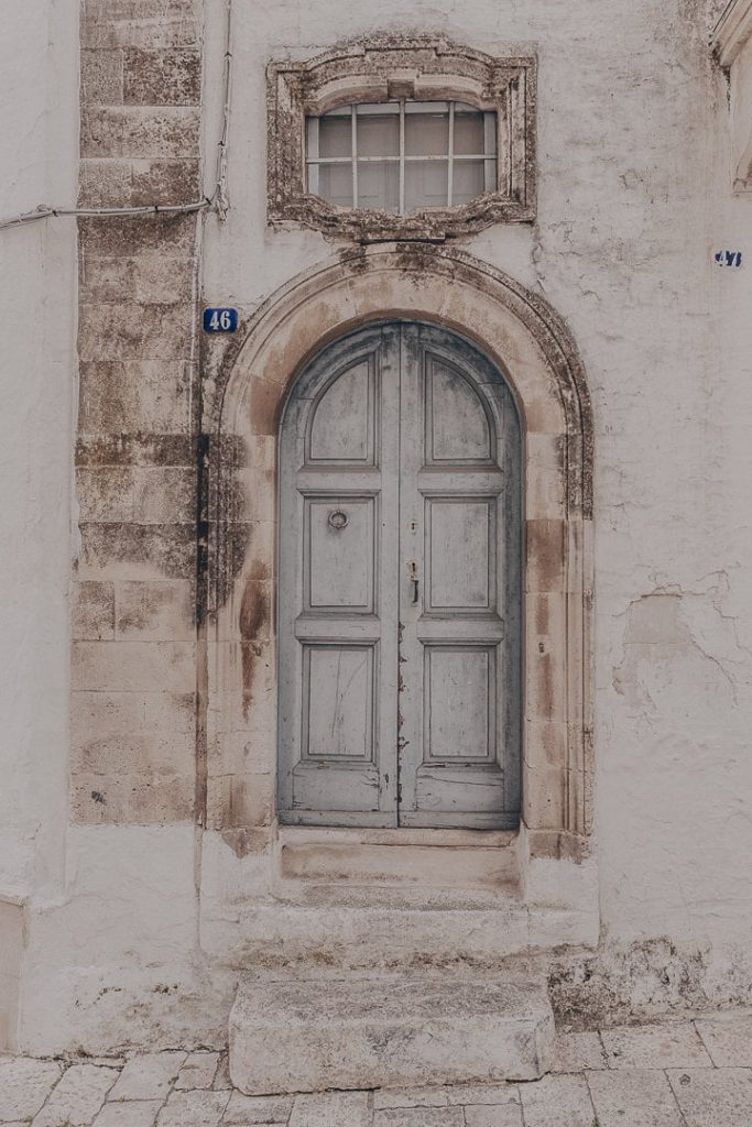 Porte Martina Franca - Les Pouilles Italie