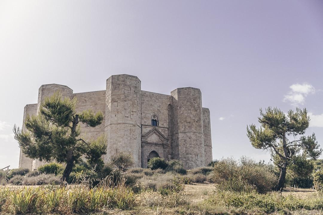 Castle del monte, classé au patrimoine de l'Unesco - Les Pouilles, Italie