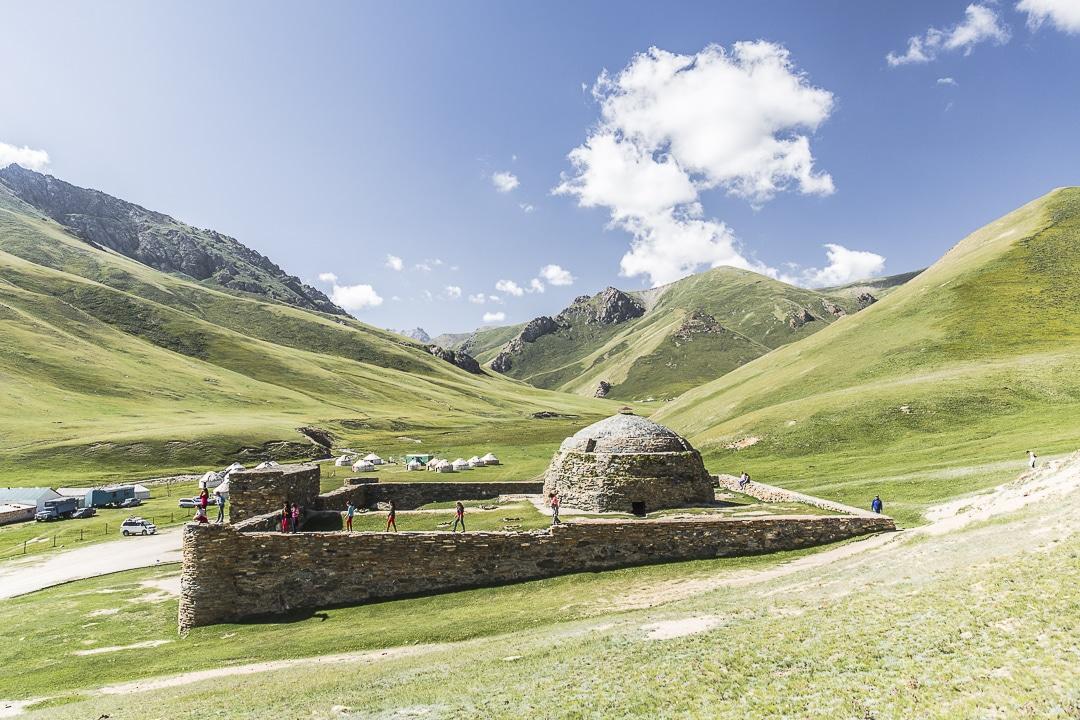 Tach rabat, caravansérail bien conservé au Kirghizstan