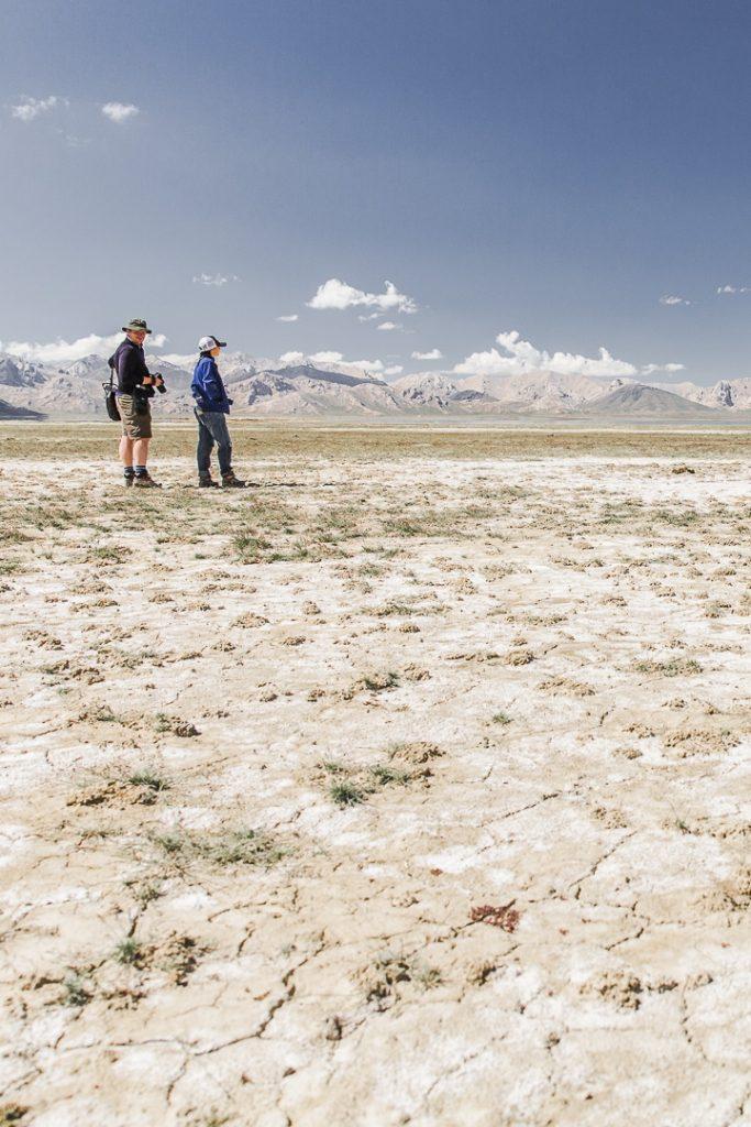 Petite randonnée sur les bords du lac Chatyr-Koul - Kirghizstan