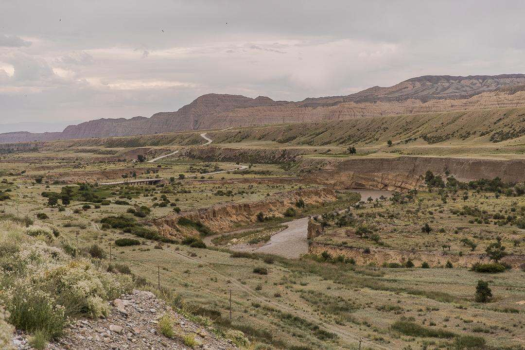 Gorges Ala Buka - Route de la soie, Kirghizstan