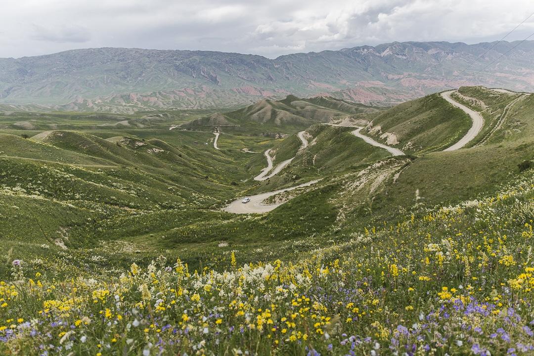 Col sur la route de la soie - Kirghizstan