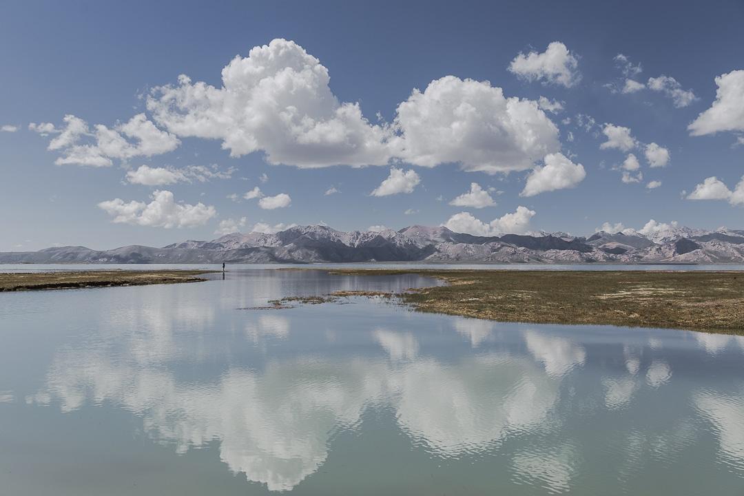 Sur le lac Chatyr-Koul - Kirghizstan