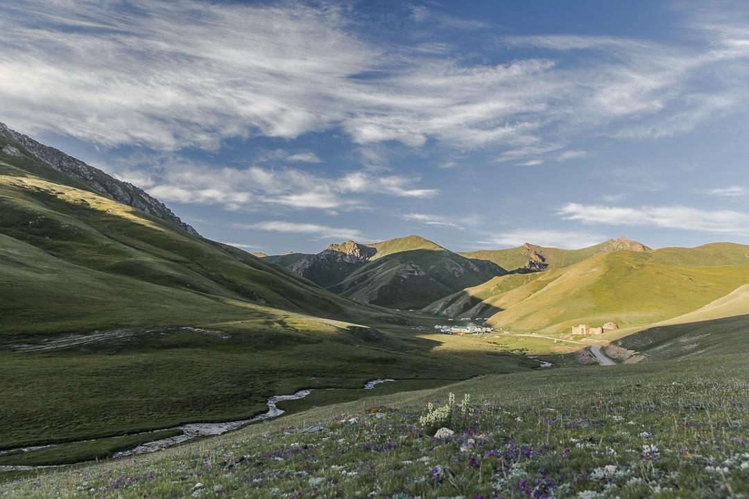 Tach rabat caravanserail enclave dans la montagne