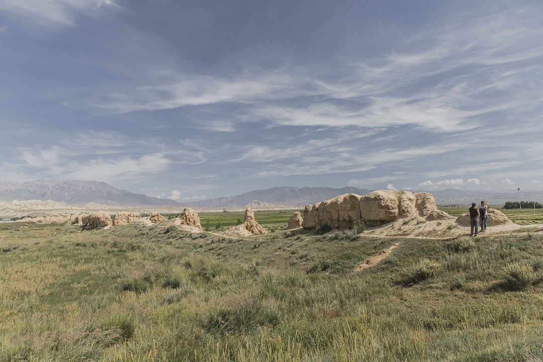 Forteresse At bashi - Kirghizstan