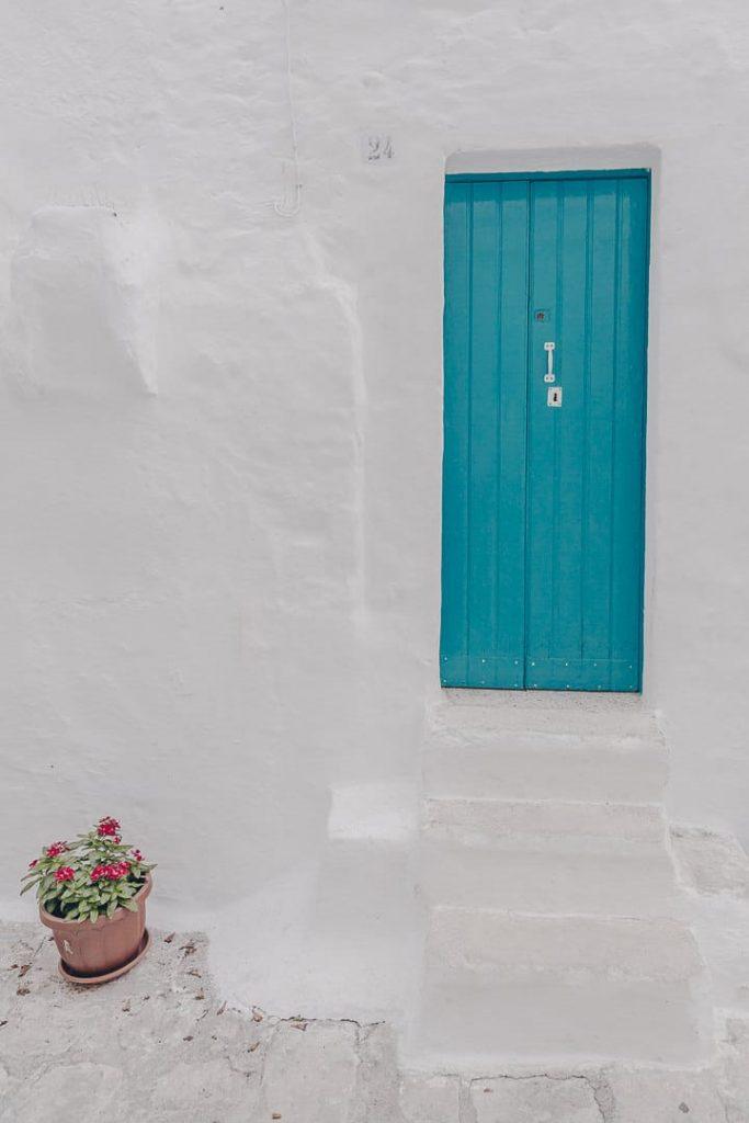 Un petit air de Grèce dans les Pouilles, dans le sud de l'Italie - Ostuni